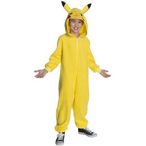 Pokemon Pikachu Child Costume Jumpsuit Large 12-14