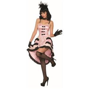 Rose The Cancan Saloon Girl Dancer Costume Standard