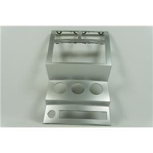 2007-2011 Dodge Nitro Radio Climate Dash Trim Bezel Silver