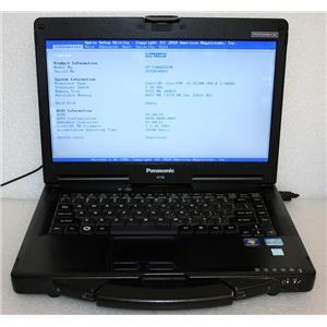 "Panasonic ToughBook 14"" HD CF-53 MK1 Core i5 2520M2.5Ghz 8GB Laptop CF-53AAGZX1M"