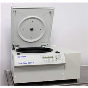 Eppendorf 5804R Refrigerated Benchtop Laboratory Centrifuge - No Rotor