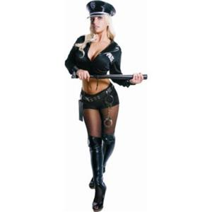 Dress Up America Adult Sexy Police Officer 2 Piece Costume Size Small