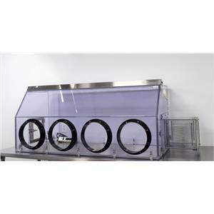 Terra Universal 3305-11F 102511 Glove Box Series 100 Twin Model Anti-Static PVC