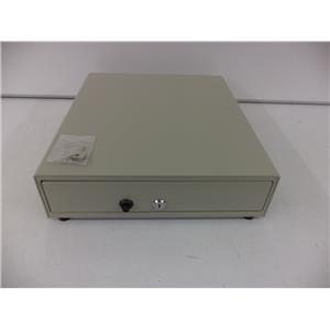 APG VP101-BG1416 Cash Drawer Vasario 13x16 Beige Manual 4 Bill x 5 Coin Till