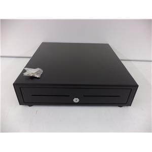 APG VB320-BL1616 Cash Drawer Vasario Drawer 16x16 Black 24V 5 Bill 5 Coin Till