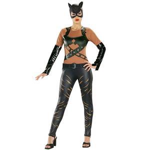 Rubies Adult DC Comic Batman Catwoman Super Hero Costume Size Medium 10-14