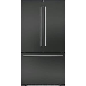 "Bosch 800 Series 36"" LED Counter Depth French Door BS Refrigerator B21CT80SNB"