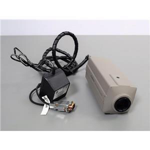 COHU 4912-5000 High Performance Monochrome CCD Camera Surveillance - Scientific