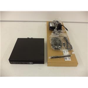 Dell RCF5J OptiPlex 3060 MFF i3-8100T 3.1GHZ 4GB 128GB M.2 SSD W10P