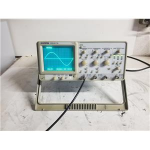 GW Instek GOS-6112 2-CH 100MHz Oscilloscope [For Parts]
