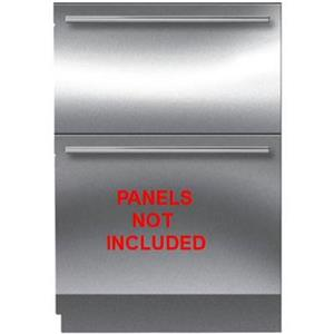 "Sub-Zero 30"" 4.9 cu. ft. Capacity Integrated PR Double Freezer Drawer ID30F"