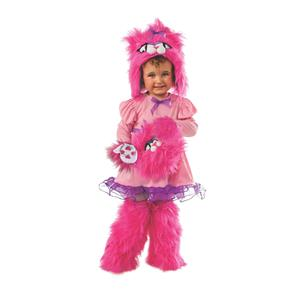 Mitten Kitten and Me Girls Fluffy Pink Costume Size Small 4-6