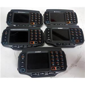MOTOROLA WT4090-WA0MJ6GA2WR Wearable Wireless Computer LOT OF 5