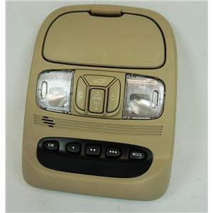 2004-10 Toyota Sienna Overhead Console with Display, Homelink, Sunroof Switch