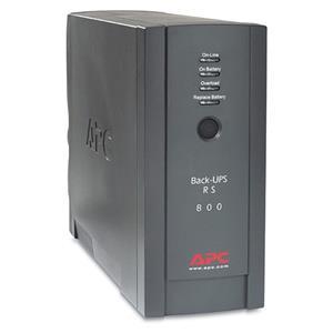 APC BR800BLK Back-UPS RS 800VA 540W 120V Desktop Tower Battery Backup