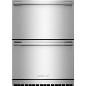 "NIB Electrolux ICON 24"" Undercounter Double Drawer Refrigerator E24RD50QS"