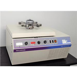 Beckman-Coulter Allegra 6R Refrigerated Benchtop Centrifuge w/ Rotor