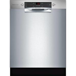 """Bosch 300 Series 24"""" 46 dBA ActiveTab™ Tray Full Console Dishwasher SGE53X55UC"""