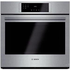 Bosch 800 30 In 12 Modes Eco Clean Single Electric Convection Oven HBL8451UC S.S