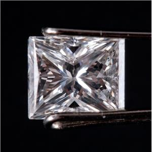 Natural Modified Rectangle Brilliant Cut H VS2 Loose Diamond W/ GIA Cert 1.01ct