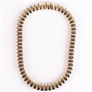 """14k Yellow Gold Large Heavy Chain Necklace 16"""" Length 67.3g"""
