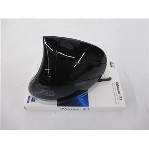 ADESSO iMouse E1 Vertical Ergonomic Illuminated Mouse - NOB