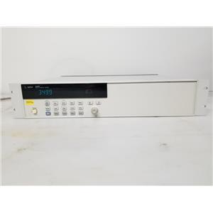 Agilent 3499A 5-Slot Switch Control System w/ 2x N2263A Modules