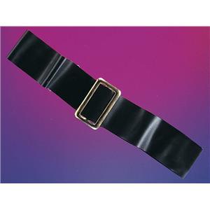 """Gold & Black Rubie's Costume Co 2"""" Vinyl Belt"""