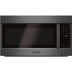 "Bosch 800 Series 30"" Black Stainless Steel Over the Range Microwave HMV8044U"