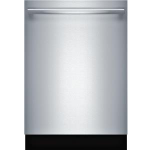 """Bosch 300 Series 24"""" 3rd Rack Fully Integrated Stainless Dishwasher SHXM63W55N"""