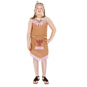 Indian Girl Child Costume Size 10-12