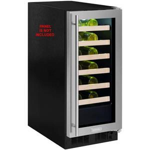 Marvel 15 Inch 2.7 cu. ft 24 bottles PR Single Zone Wine Refrigerator ML15WSF3RP