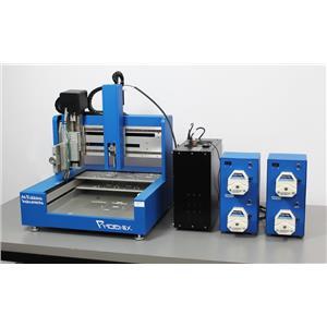 Art Robbins Instruments Phoenix 600 Liquid Handling Dispenser Pumps Pump Heads