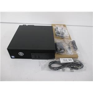 Dell C3VXG Precision Tower 3420 -SFF- Xeon E3-1240 v6 3.7GHz 16GB 256GB W10P