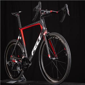New 2017 Felt AR1 Size XL or 61 Carbon RED eTap Road Bike with zipp 404's NOS