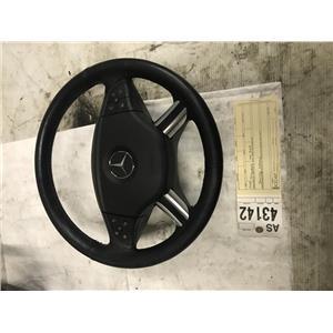 2009 Mercedes ML black steering wheel as43142