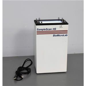 BioMicroLab SampleScan HS Scanner Barcode Readers for 2D Tube Rack Samples