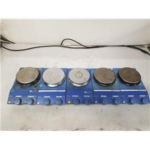 Ika Werke RET / RCT Basic Hotplate Stirrers RET B S1 / RCT B S1 - Lot of 5