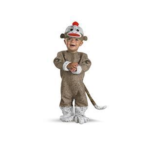 Sock Monkey Infant Costume Size 12-18 months