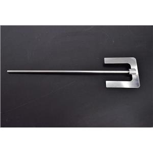 "Laboratory Anchor Paddle for Homogenizer Stirrers Stainless Steel 20.5""L x 5""W"