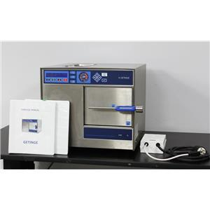 Getinge HS-22 K7 Benchtop Steam Sterilizer Autoclave Medical Dental 7Kg 20L