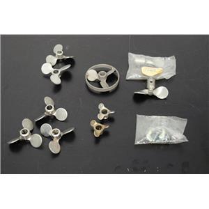 Laboratory Propeller Stirrer Heads for Stirrer Shafts 0.8mm Assortment of 10