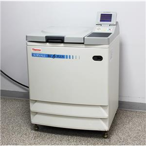 Thermo Kendro Sorvall RC-6 Superspeed Refrigerated Floor Centrifuge w/ Rotor