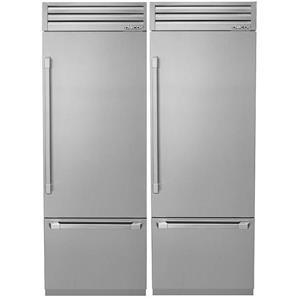 "NIB Dacor Discovery 60"" Integrated Refrigerator Freezer DYF30BFTSR / DYF30BFTSR"