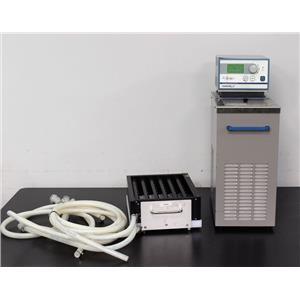 VWR 1167P Programmable Heating/Cooling Circulator with Tecan Te Flow Rack