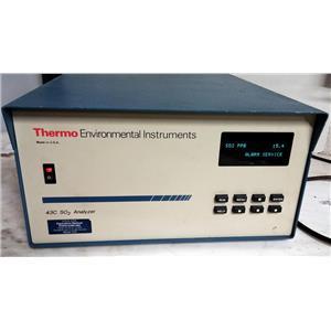 THERMO ENVIRONMENTAL INSTRUMENTS 43C SO2 ANALYZER