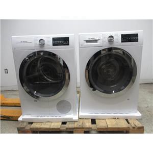 Bosch 800 Series White Chrome Washer / Dryer Set WAT28402UC / WTG86402UC (7)