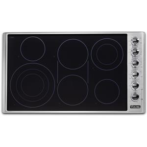 Viking Professional 5 Professional Series VECU53616BSB 36 Inch Electric Cooktop