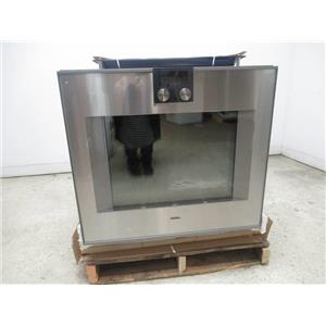 """Gaggenau 400 Series 30"""" 17 Modes Single Electric Convection Wall Oven BO480611"""