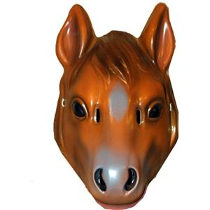 Plastic Horse Child Face Mask